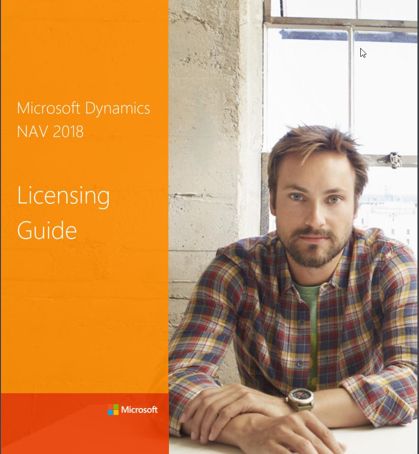 Dynamics NAV 2018 License Guide